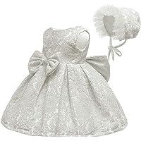 LZH Bebé Vestido Las Niñas Flor Bowknot Princesa