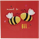 Hallmark Engagement Card 'Meant To Bee' - Medium Square
