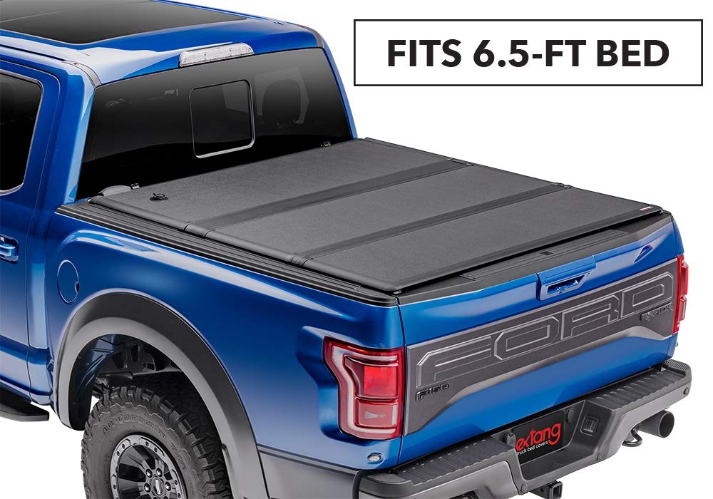 Extang Encore Soft Folding Truck Bed Tonneau Cover | 62486 | fits Ford Super Duty Short Bed (6 3/4 ft) 2017-18