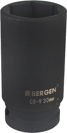 "6 sided Bergen 24mm 1//2/"" Drive Shallow Metric Socket Single Hex"