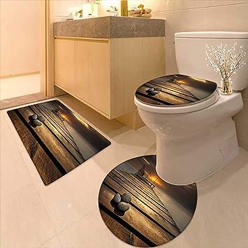 Printsonne WC-Kissen Anzug Gelb Abstrakt Modern Art Deco Inspiriert ...