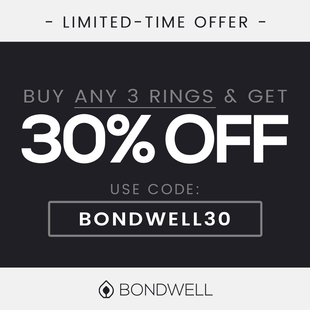 BONDWELL Silicone Wedding Ring for Men (Black) Save Your Finger & A Marriage Safe, Durable Rubber Wedding Band for Active Athletes, Military, Crossfit, Weight Lifting, Workout - 100% Guarantee (11) by BONDWELL (Image #9)