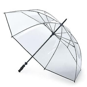 Fulton Clearview extra grande con dosel paraguas de golf clara