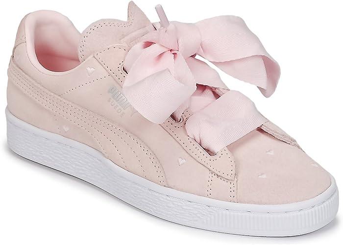 PUMA Mädchen Suede Heart Jewel Inf Sneaker
