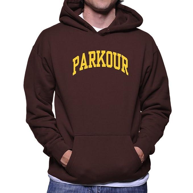 Teeburon Parkour Sudadera con capucha
