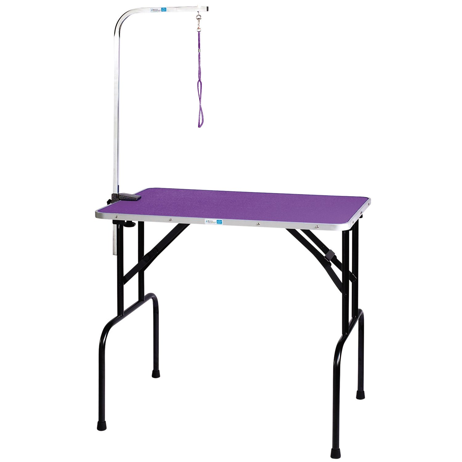 Purple 91.44 cmMaster Equipment Foldable, Portable Pet Grooming Table