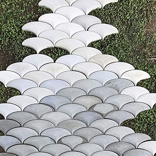 FidgetFidget New Stepping Stone Mold Custom Design Patio Pavers Silicone Molds Concrete