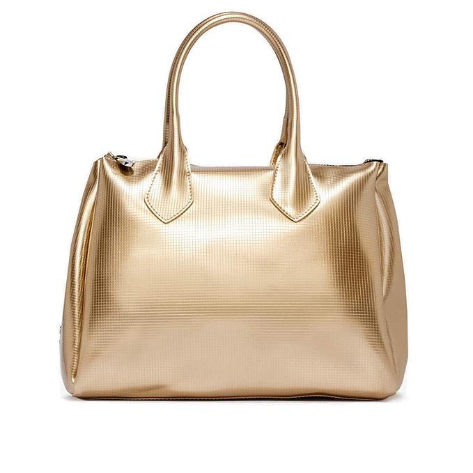 21256a1cf GUM Gianni Chiarini Design | Borsa a Mano Fourty Grande Oro |  GUM_BS1741/19PE_0099: Amazon.it: Abbigliamento