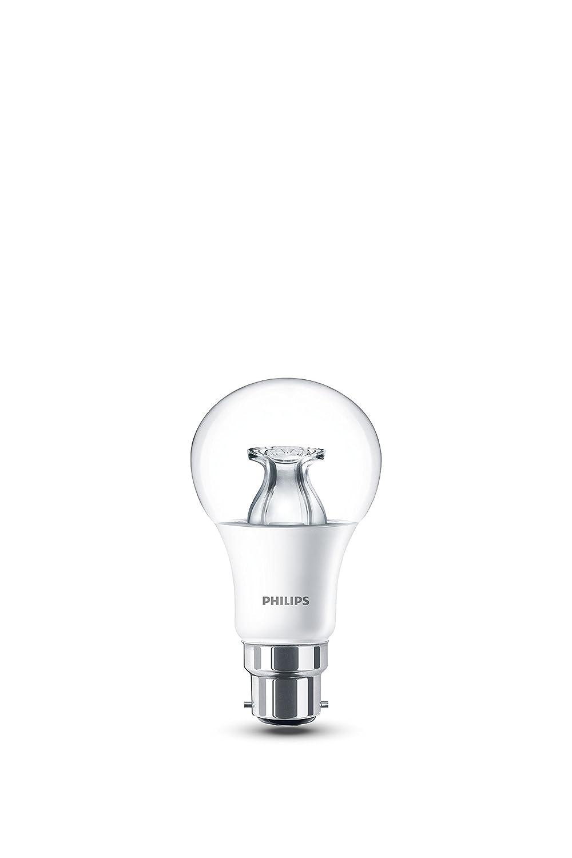 Philips LED Warm Glow E27 Edison Screw Dimmable Light Bulb, 6 W (40 W) - Warm White 929001150858