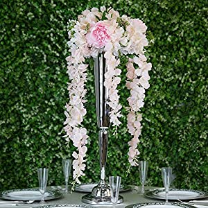 Efavormart 4 Ft Artificial Wisteria Vine Hanging Garland for DIY Wedding Centerpieces 55