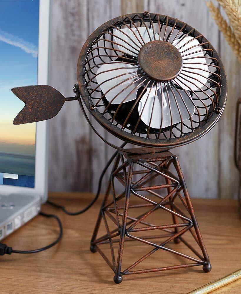 ZaikaHome Windmill Themed USB Desktop Fan - Windmill by ZaikaHome