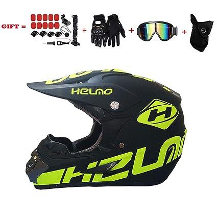 Jiafum-Helmet Cascos de Motocross Certificación D.O.T Adecuado para ...