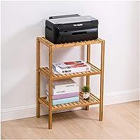 Print Racks Multifunction Storage Rack Printer, 3 Tier Solid Wood Printer Stands Office Bracket Copier Rack Floor…