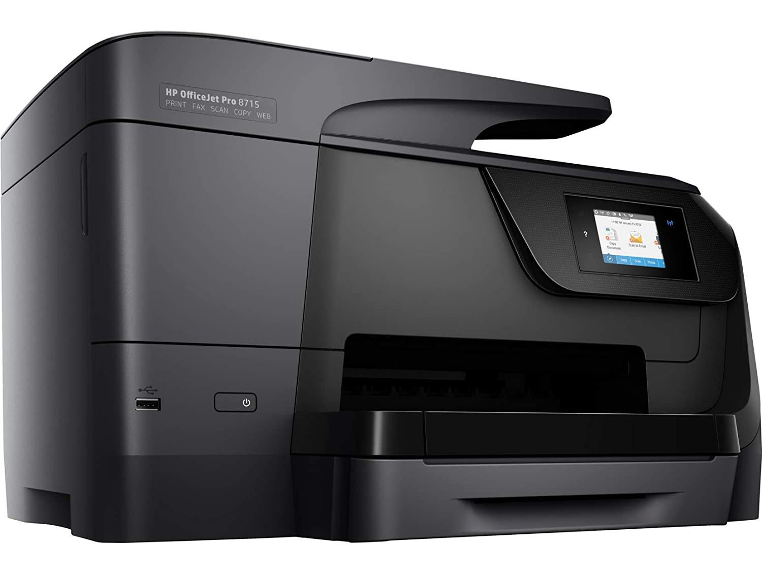 HP Officejet Pro 8715 - Impresora multifunción (Tinta Color, WiFi ...