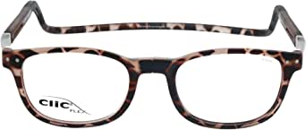 CLIC Reading Glasses, FLEX CWX-FMMN FROST Brown +03.00