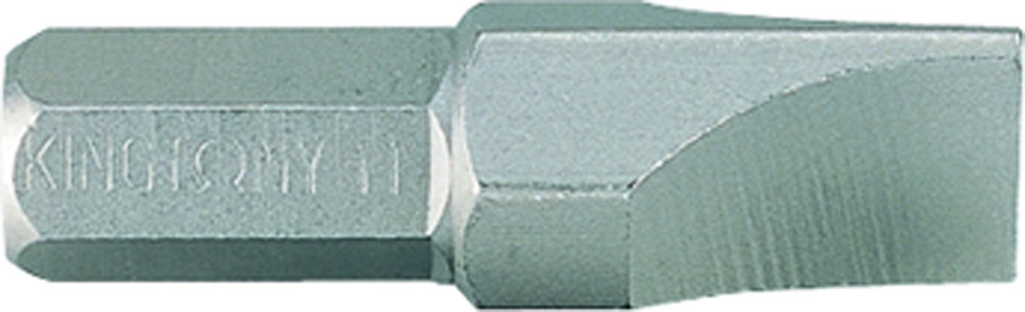 King Tony 183611S Slotted Screwdriver Bit 5/16-inch