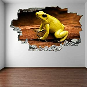 Poison Dart Frog Rainforest Animal Wall Art Sticker Mural Decal Home Decoration FA6