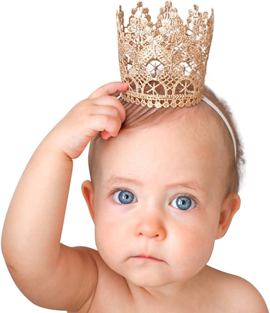 Charmant Bébé Fille Dentelle Fleur Forme Bandeau élastique Bébé Fille Cheveux Accessoires
