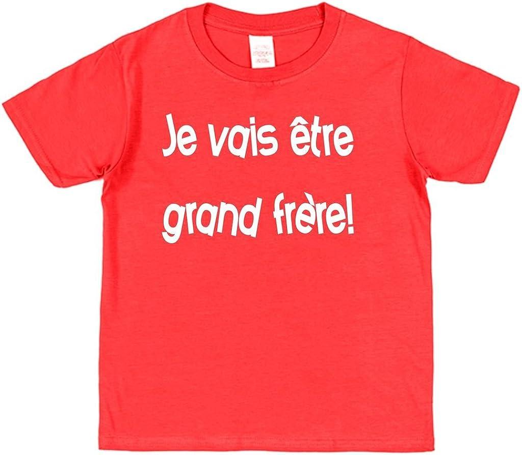 Click My Clobber Je Vais /être Grand Fr/ère T-Shirt Enfant