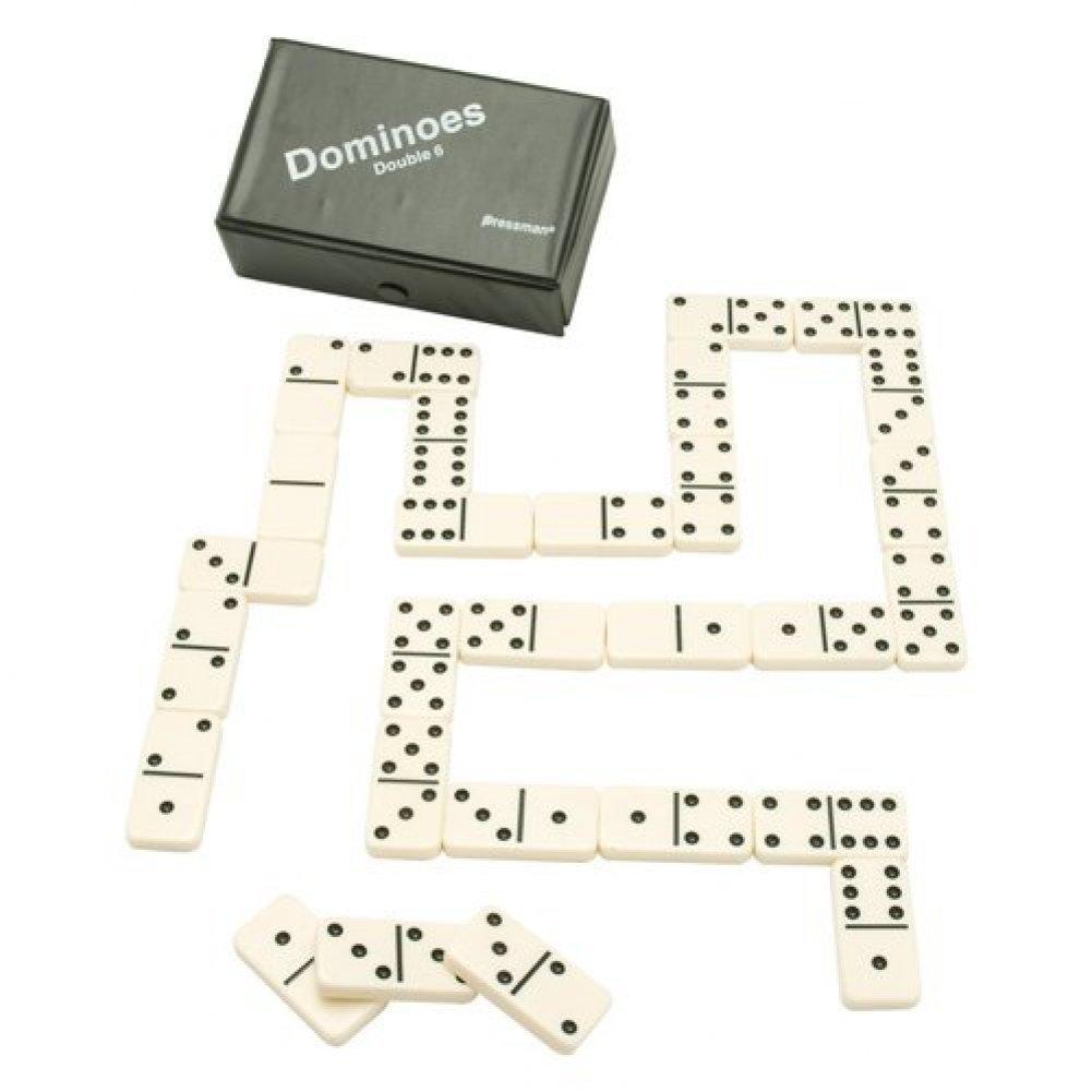 Pressman Dominos Double 6