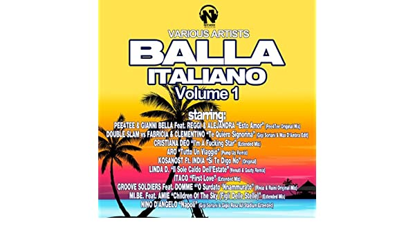 Balla Italiano, Vol. 1 [Explicit] by Various artists on
