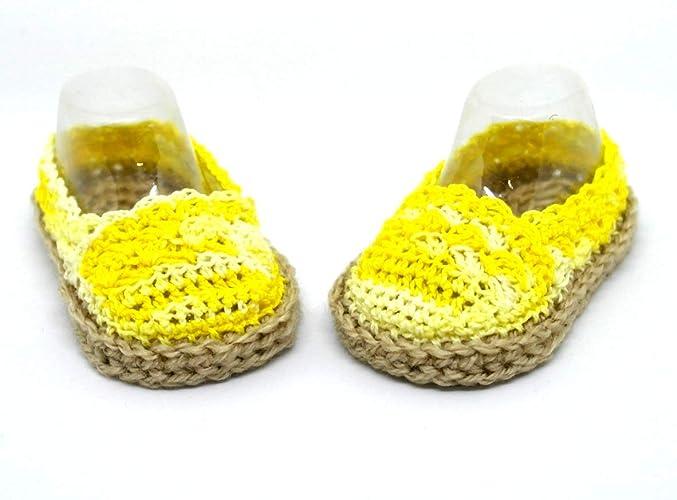 Alpargatas de bebé, Zapatillas de verano, Sandalias de niña, Zapatillas de bebé recién
