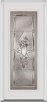 National Door Company ZZ365044L Solid Core 2-Panel Prehung Interior Single Door 32 x 80 on 6-9//16 Jamb Left Hand MDF Molded