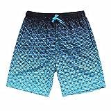 daqinghjxg Pockets Beach Shorts Men England Style Striped Pants Trunks Board Casual BU S