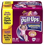 Huggies Pull-Ups Training Pants, Nighttime, Girls, 2T-3T, 54 Count
