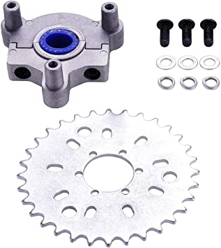 RUNGAO 36T Sprocket Adapter Fit 1.5 inch 1 1//2 inch 415 Chain 49cc 50cc 66cc 80cc 2 Stroke Motorized Bike