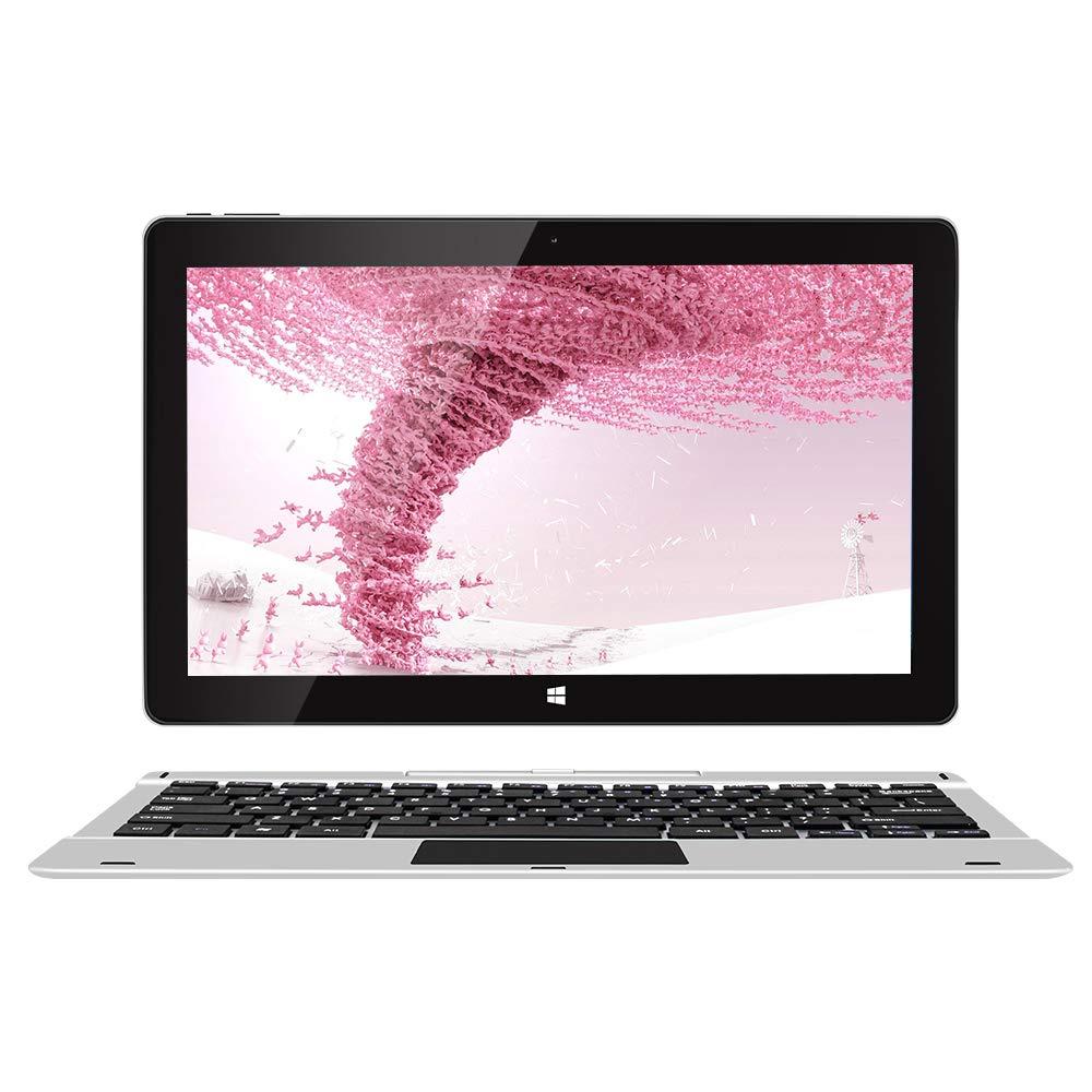 Jumper EZpad 6 Pro 2in1-Laptop-Touchscreen 11,6 inch Full-HD, Schmale Einfassung Intel Atom E3950, 1,1-GHz-Quad-Core-Prozessor, 6 GB RAM, 64 GB Speicher, Unterstützt 256 GB tf-Karte,Windows 10