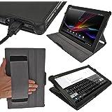 'igadgitz U246410.1Tasche Bookstyle schwarz Tasche für Tablet