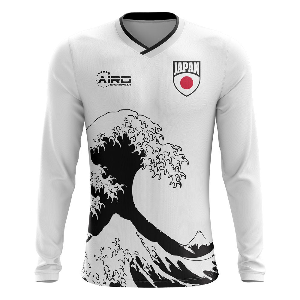Airo Sportswear 2018-2019 Japan Long Sleeve Away Concept Football Soccer T-Shirt Trikot