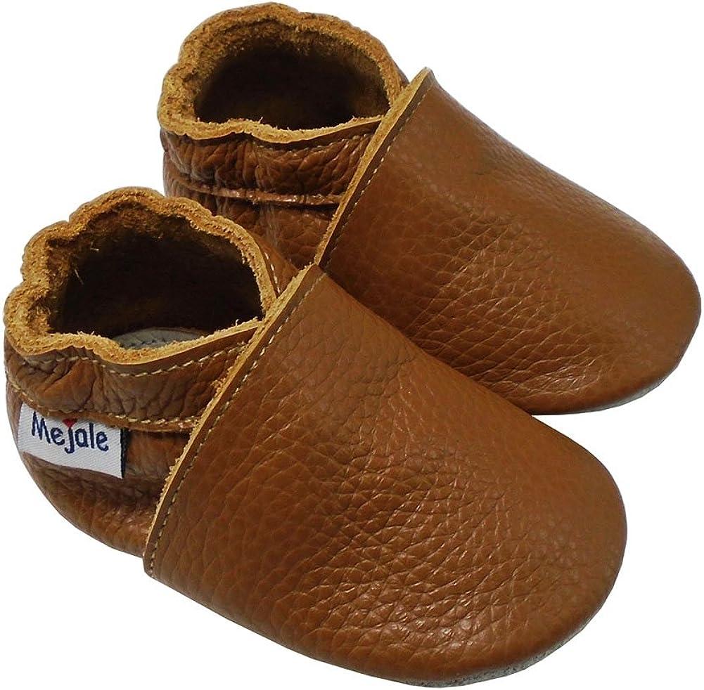 | Mejale Baby Infant Toddler Shoes Slip-on Soft Sole Leather Moccasins Pre-Walkers | Oxford & Loafer