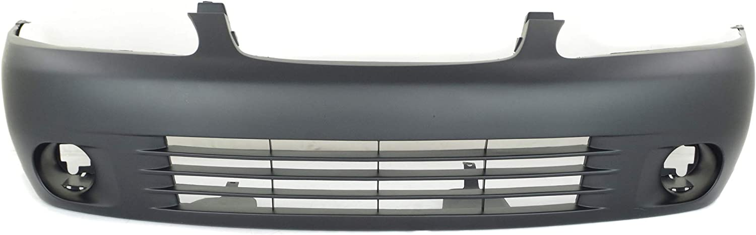 Rear Bumper Cover For 2000-2003 Nissan Sentra Primed Plastic
