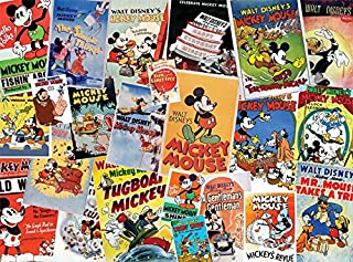 product image for Ceaco Disney Mickey Mouse Vintage Collage Jigsaw Puzzle, 1500 Pieces