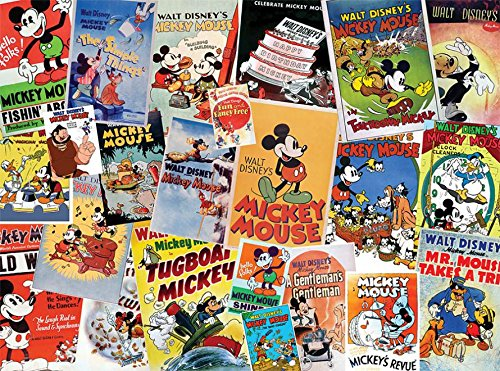 Ceaco Disney's Mickey Mouse Posters Puzzle (1500 Piece) -