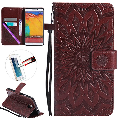 Samsung Note 3 Case, ISADENSER Leather Folio Flip Cover for sale  Delivered anywhere in Canada