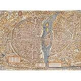 Puzzle 2000 pièces - Olivier Truschet et Germain Hoyau : Plan de Paris du milieu du XVIe Siècle