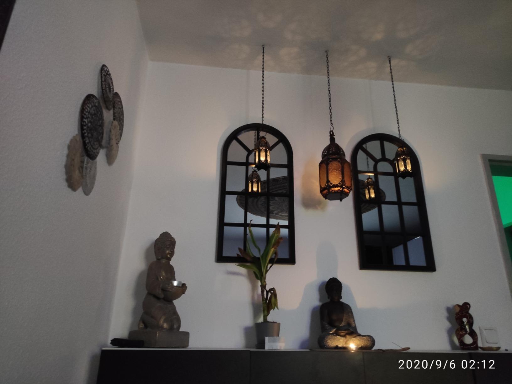 2 x Marokkanische Stil Kerzen Laterne photo review