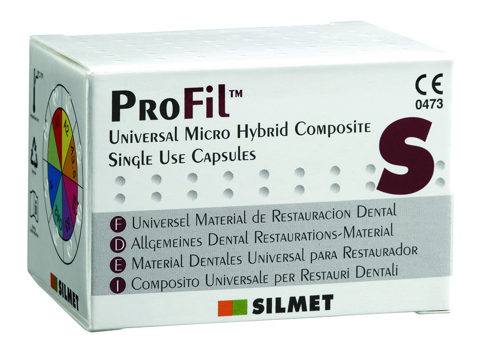 Cargus 18UA03 Profil A3 Unidose Hybrid Composite, 0.25 g, Silmet (Pack of 20) by Cargus