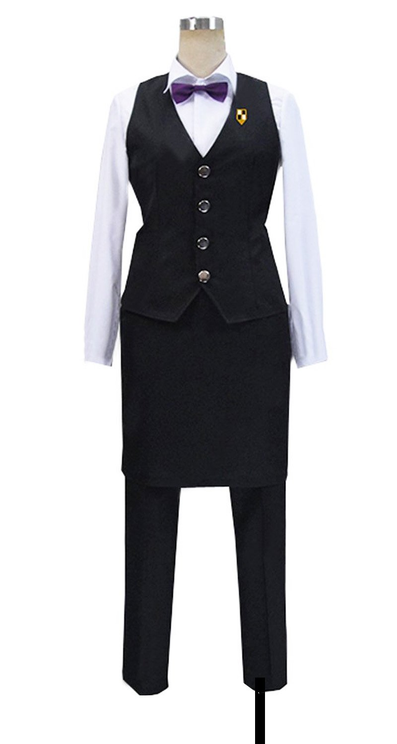 Dreamcosplay Anime Death Parade Decim Work Uniform Cosplay Costume
