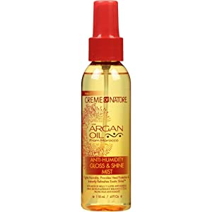 Creme of Nature with Argan Oil from Morocco Anti-Humidity Gloss & Shine Mist 4 FL OZ