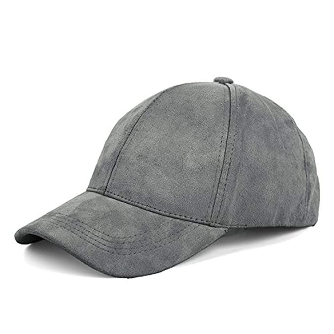 c22b5f968 Moktasp 2019 New Suede Baseball Cap Mens Casquette Bone Cap Fashion ...
