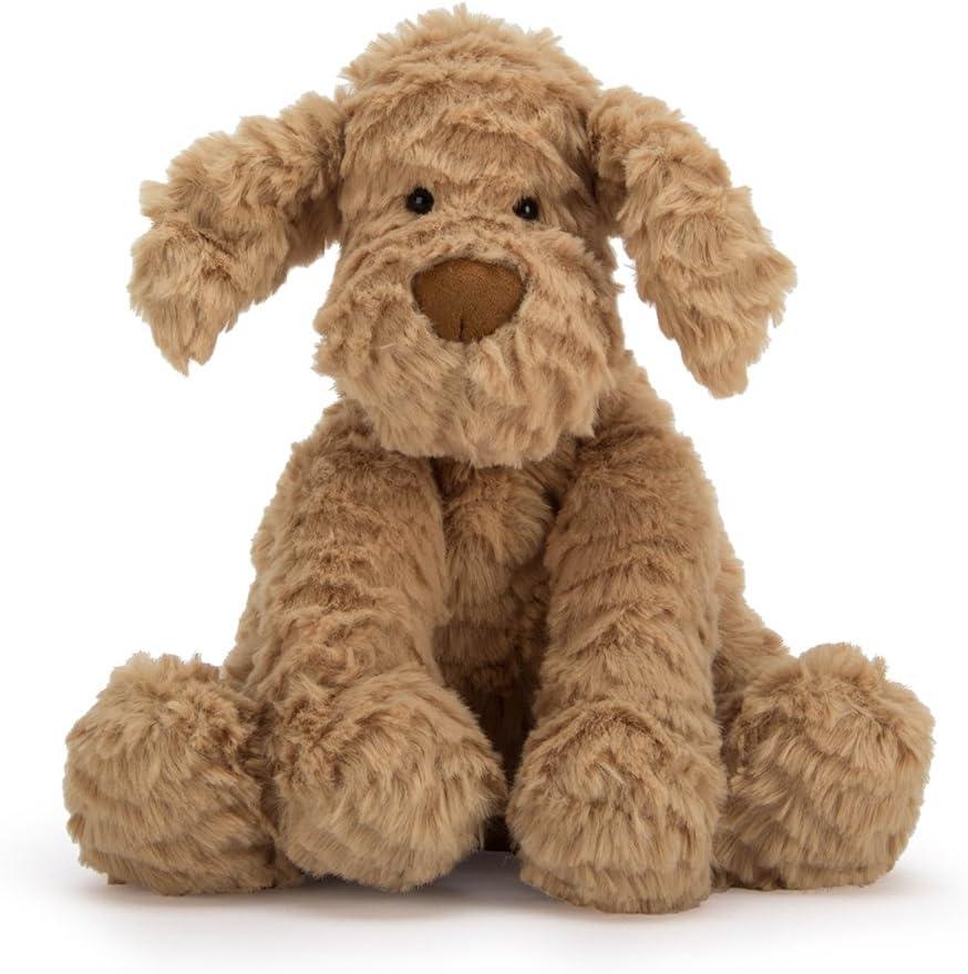 Jellycat Fuddlewuddle Puppy Stuffed Animal, Medium, 9 inches