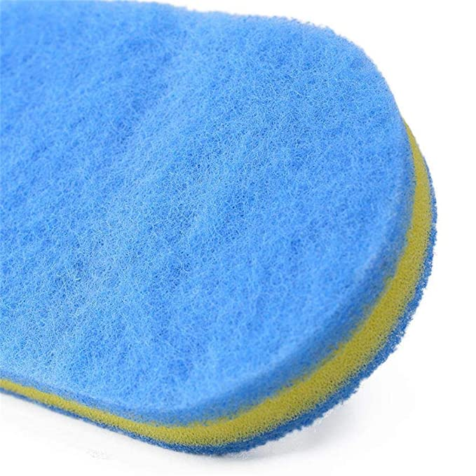 Syeytx Flexible Oval Plastic Sponge Cleaning Faser ...