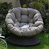 Thicked Papasan Chair Cushion, Outdoor Egg Seat