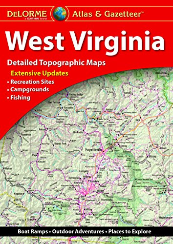 Delorme West Virginia Atlas & Gazetteer 7th Edition