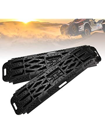 8f02f44c28dce LITEWAY Recovery Traction Tracks with Jack Lift Base- 2 Pcs Traction Mat  for Sand Mud