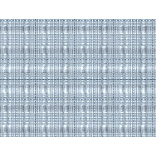 White Plaid Wallpaper (York Wallcoverings NY4999 Nautical Living Harris Plaid Wallpaper, White/Medium Sky Blue/Marine Blue)